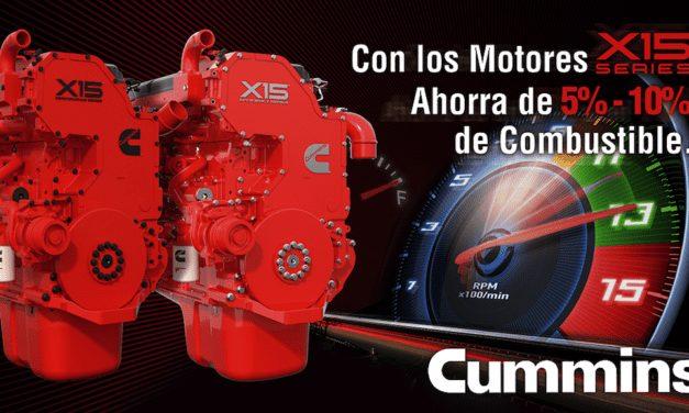 Economía de combustible con motores X15 Series