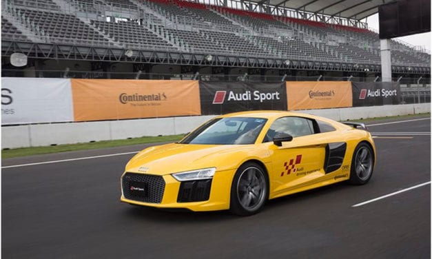 Presencia de Continental en el Audi Driving Experience