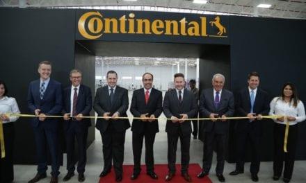 Abre Continental planta de produccio´n en SLP