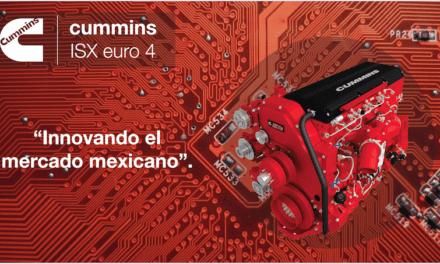 Impulso constante con el motor ISX Euro 4 de Cummins