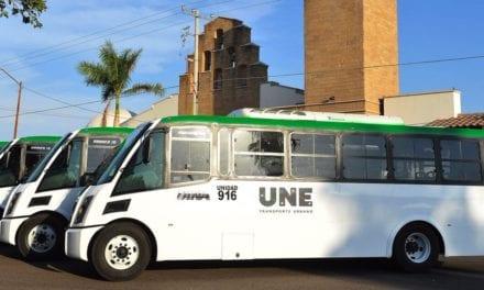 Ponen en marcha 12 autobuses DINA en Sonora