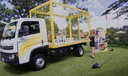 Gran expectación por camiones Delivery en Colombia