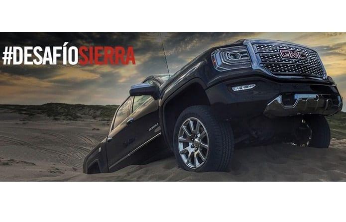 Exponen poderío de la pick-up Sierra 2016