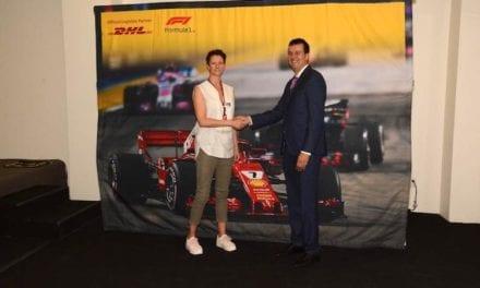 Cumple DHL 14 años como socio logístico de la Fórmula 1
