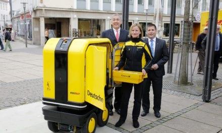 Un robot que ayuda a las entregas de DHL