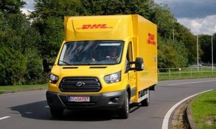 Presentan DHL y Ford sus primeras vanes eléctricas