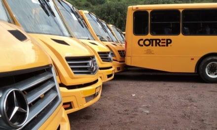 Ruedan 57 nuevos Mercedes-Benz en la flota de COTREP