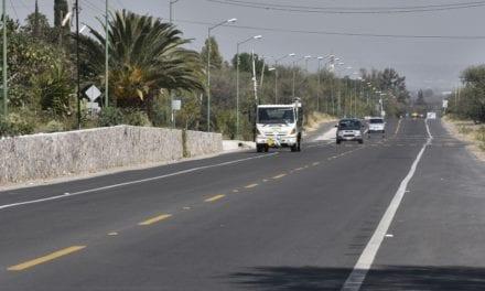 Modernizan la carretera Purísima del Rincón-Jalpa de Cánovas