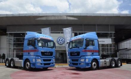 2 MAN TGX celebran 50 años de Transportes Tellería