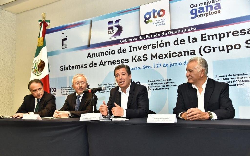 Llega a Guanajuato Sistemas Arneses K&S Mexicana