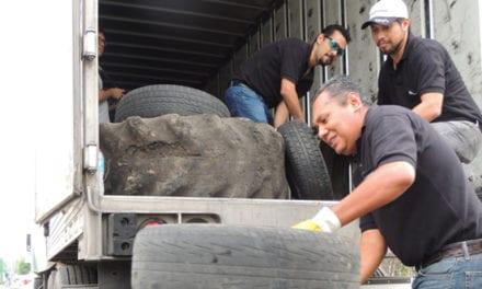 Recomienda Bridgestone reutilizar llantas de desecho