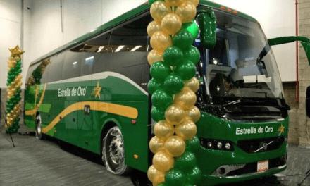 Es Estrella de Oro transporte oficial del Tianguis Turístico