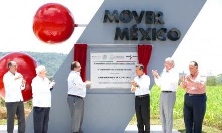 Entregan libramiento Coatepec, Veracruz