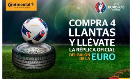Con Continental vive el ADN de la UEFA-EURO 2016