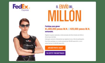 Invita FedEx a PyMES al concurso El envío del millón