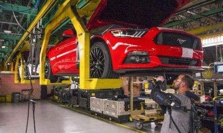 También en Ford México se usa el Exoesqueleto