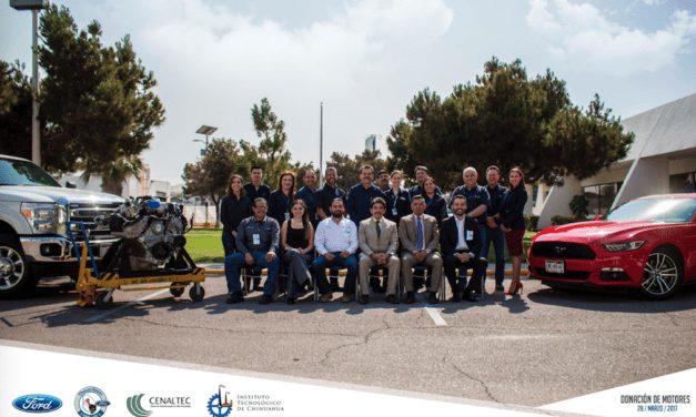 Motoriza Ford la educación superior en Chihuahua