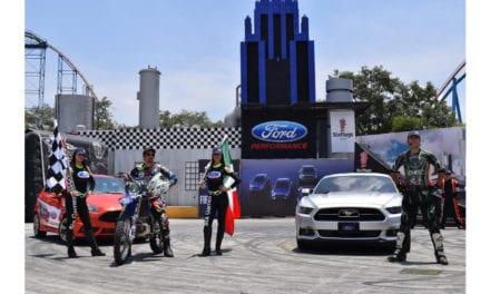 Presenta Ford el espectáculo Six Games en Six Flags