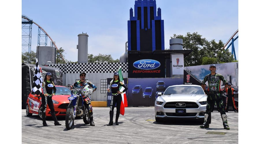 Presenta Ford el espectáculo Six Games en Six Flags
