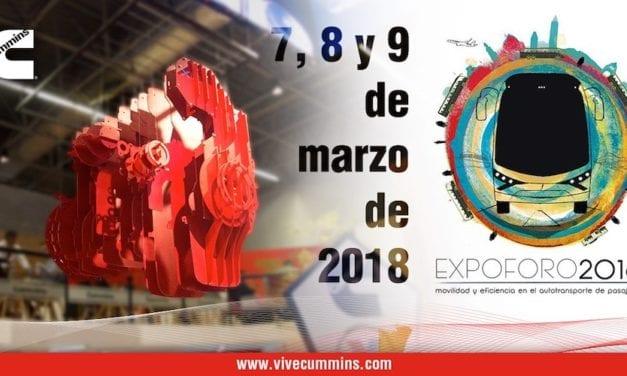 Tecnología Cummins a gas natural en Expo Foro