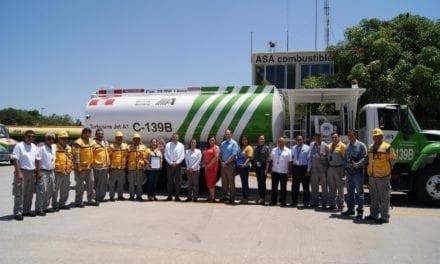 Reconocen calidad de estación de combustible de la red ASA