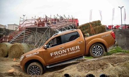 Presenta Nissan la fuerza de NP300 Frontier en Argentina
