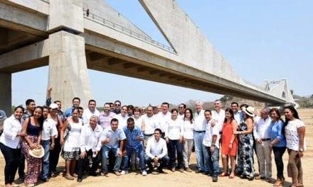 Terminan puente Barra Vieja Las Lomas