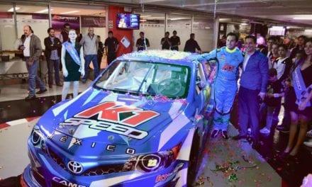 Presentan la escudería K1 Speed México para NASCAR Peak
