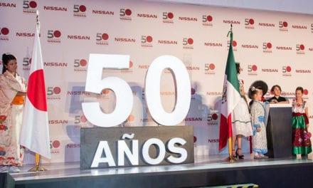 Cumple Nissan Planta CIVAC 50 años en México