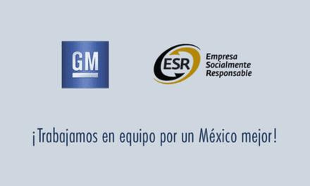 Recibe GM México galardón como ESR
