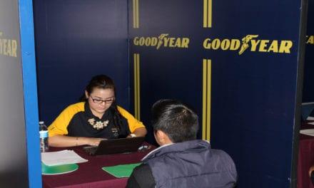 Realiza Goodyear segunda Feria de Empleo en SLP