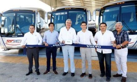 Con Volvo Buses se renuevan líneas de Yucatán
