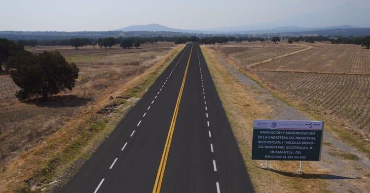 Invierte SCT en infraestructura carretera en Tlaxcala