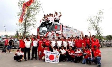 Excelentes resultados de Hino en el Rally Dakar 2018