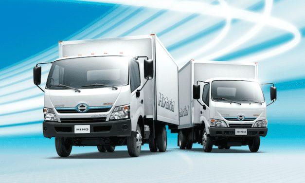 Probará Grupo Lala camiones híbridos de Hino