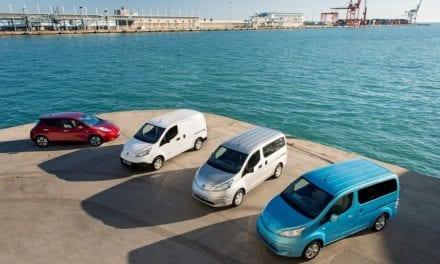 Nissan en la flotilla de vehículos eléctricos AVIS Dinamarca