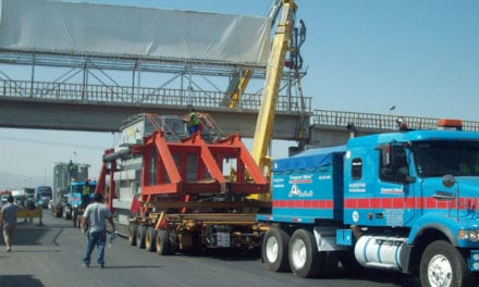 Restricciones al tránsito de transporte especializado de carga