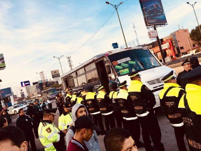 Sancionan 844 unidades de transporte público en el Edomex