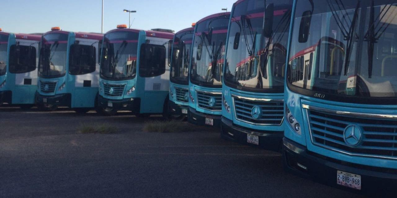 Renueva su flota Transporte Urbano La Paz