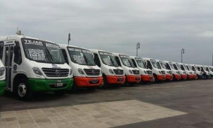 32 Boxer para el transporte público de Veracruz