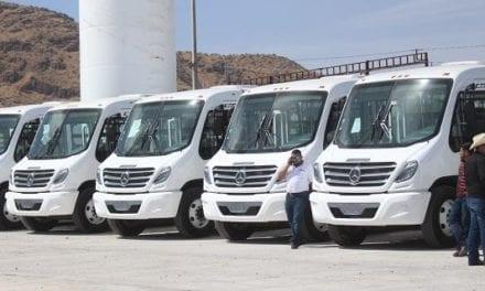 Entran en operación 55 autobuses en Chihuahua