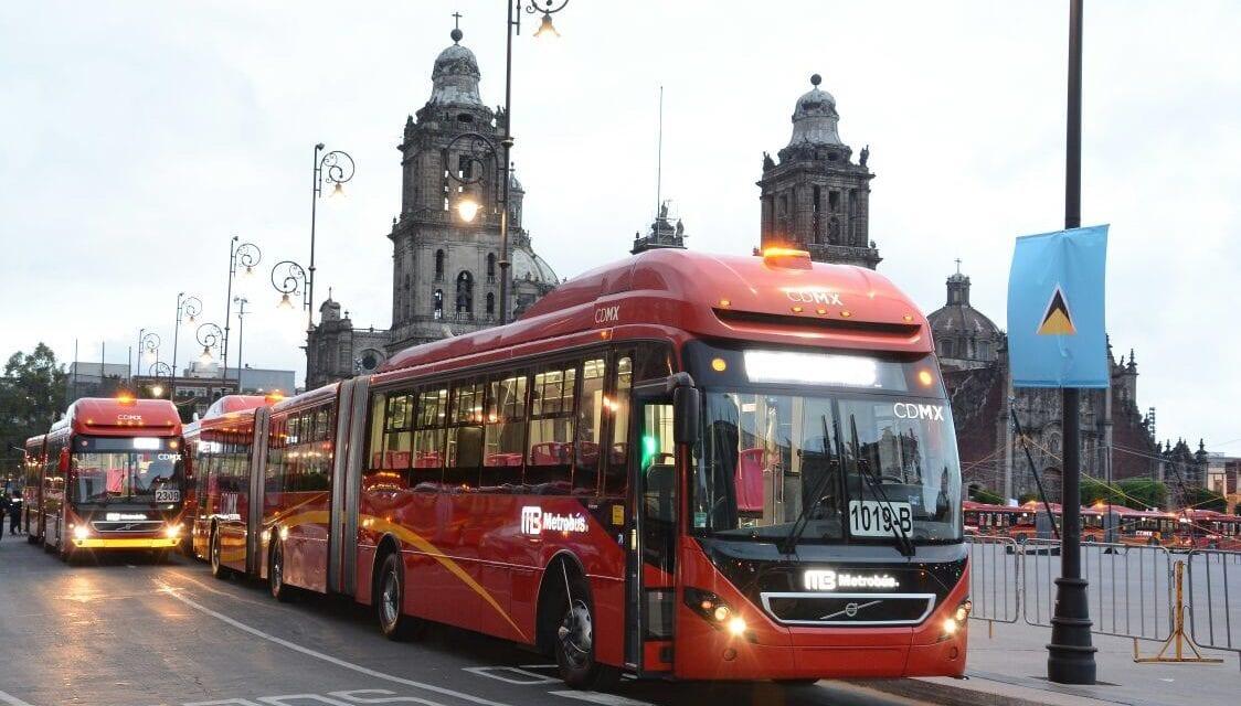 En marcha 30 autobuses Volvo para Metrobús