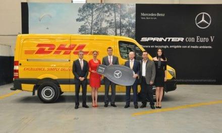 Renueva DHL su flota con 305 Sprinter de Mercedes-Benz