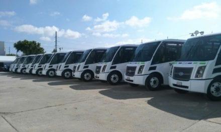 15 unidades DINA a gas natural para Querétaro