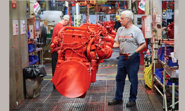 Produce Cummins motor número 2 millones en Jamestown