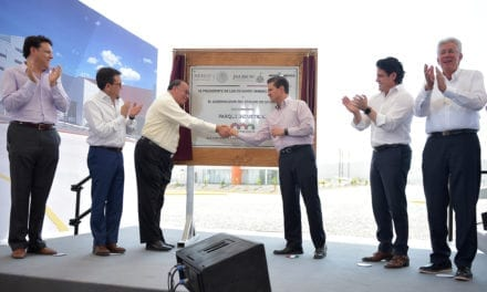 Inauguran Parque Industrial Colinas de Lagos