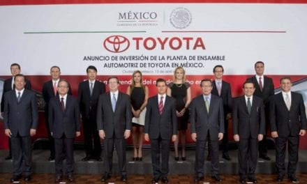 Abrirá Toyota una planta de ensamble en Guanajuato