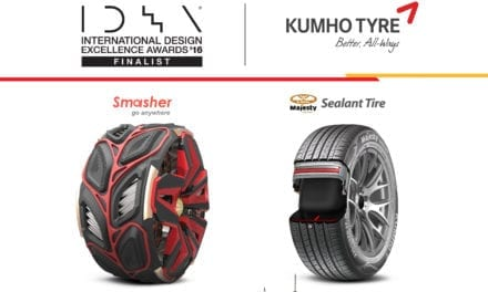 Recibe Kumho Tyre premio IDEA