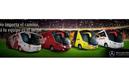 Mercedes-Benz autobuses, transporte oficial en la Liga MX