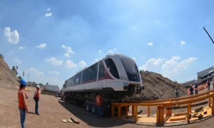 Avanza la entrega de trenes para el SITEUR